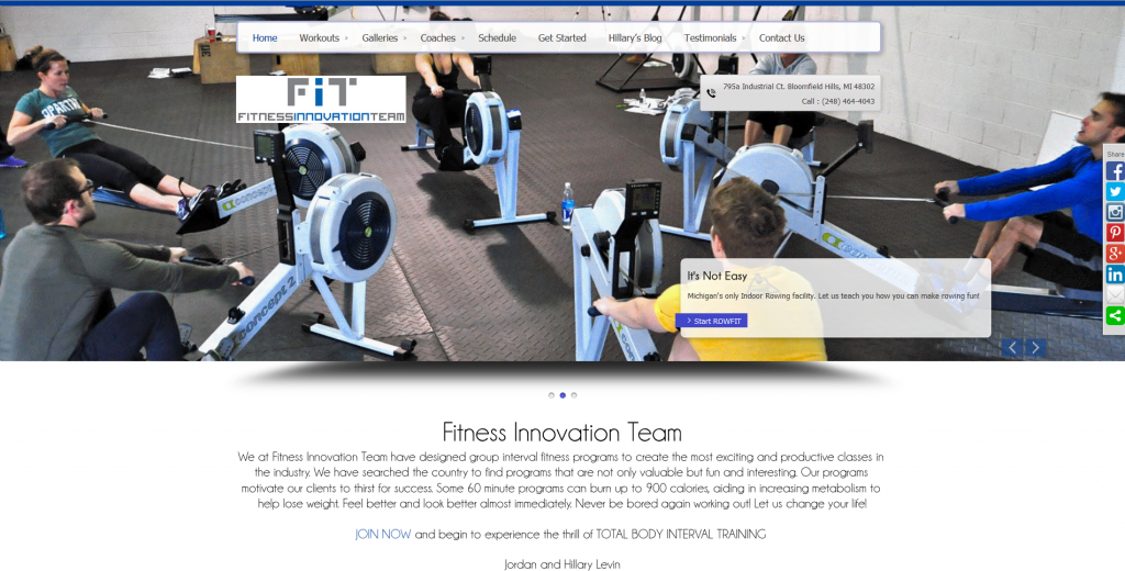 Fitness Innovation Team