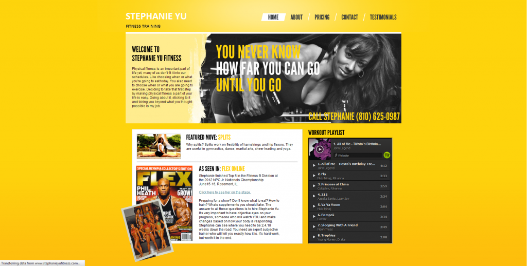 Stephanie Yu Fitness